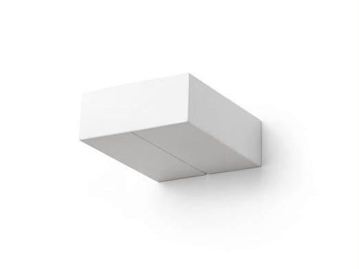 Ceramic wall lamp 182417 | Wall lamp rectangular - THPG