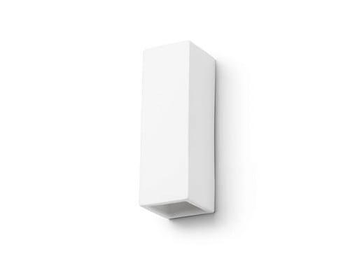 Ceramic wall lamp 182418 | Wall lamp rectangular vertical - THPG