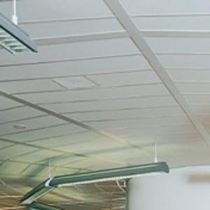 Acoustic mineral fibre ceiling tiles THERMATEX – SISTEMA I - Knauf AMF Italia Controsoffitti