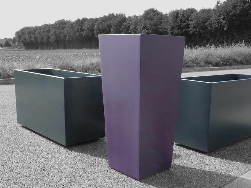 Fiber cement planter Finition planteur mat - IMAGE'IN by ATELIER SO GREEN