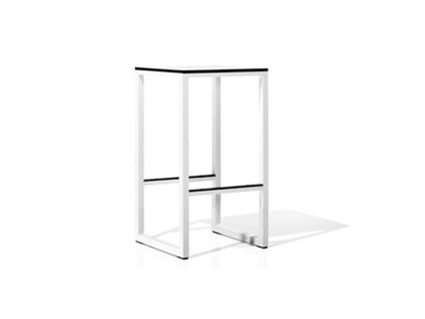 Aluminium garden stool CLUB | Garden stool - Bivaq