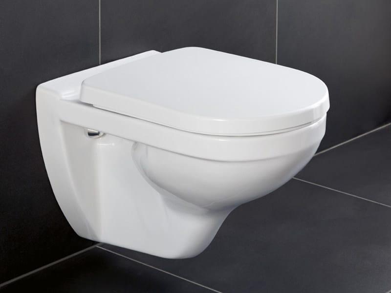 Wall-hung ceramic toilet GREENGAIN | Toilet - Villeroy & Boch
