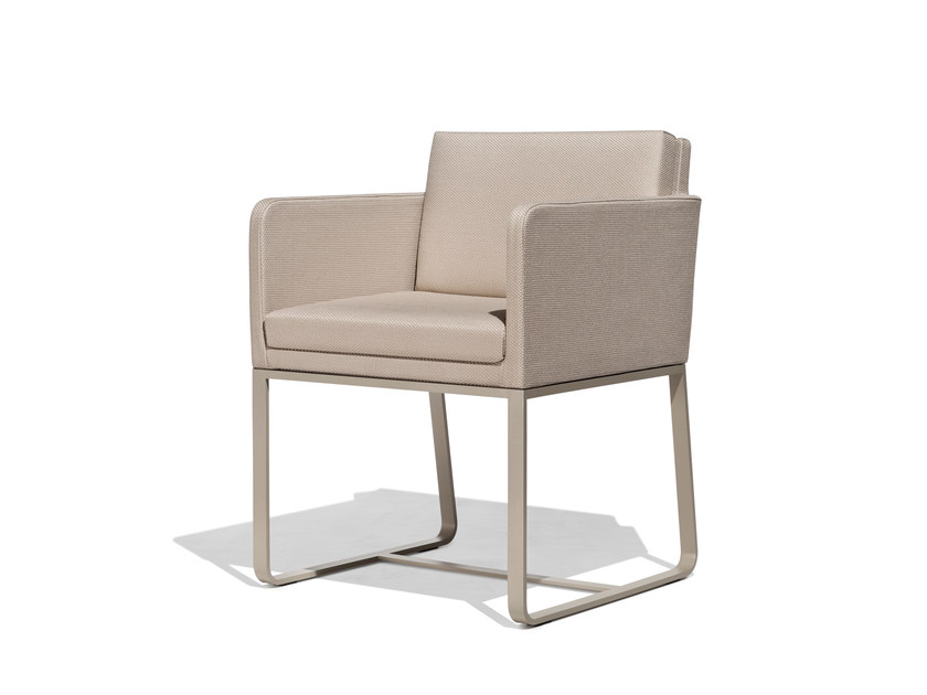 Sled base garden armchair MOOD | Sled base easy chair - Bivaq