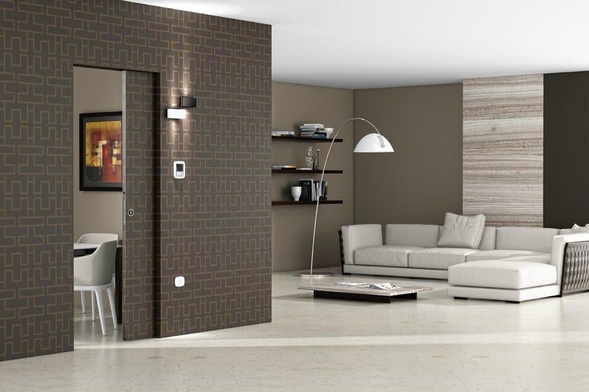 Counter frame for single sliding door ABSOLUTE ENERGY single door - Ermetika