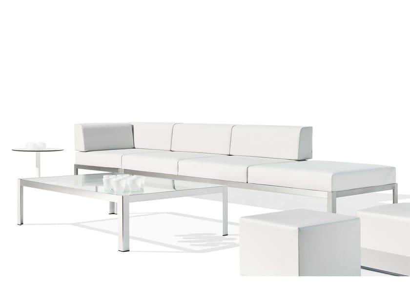 Sectional garden sofa NAK | Sectional sofa - Bivaq