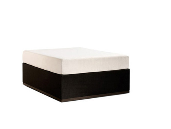 Upholstered garden pouf MOOD | Upholstered pouf by Bivaq