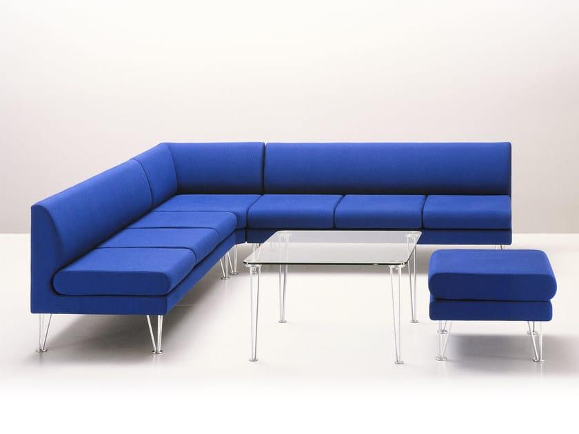Corner sectional fabric sofa ANDROMEDA | Corner sofa - Sedes Regia