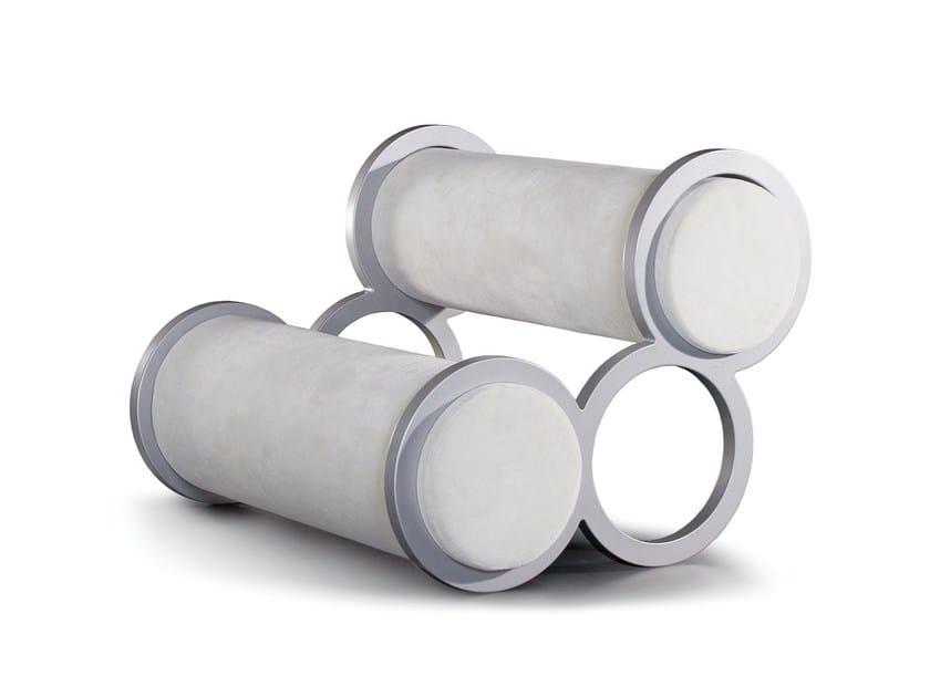 Fabric small sofa SOFT RINGS - Sedes Regia