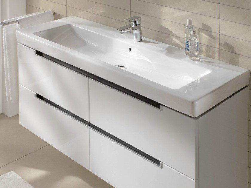 Rectangular ceramic washbasin SUBWAY 2.0 | Washbasin - Villeroy & Boch
