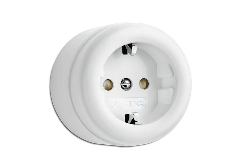 Single electrical outlet 184199 | Surface-mounted outlet - THPG