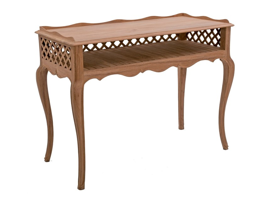 Teak garden console CYCLAMEN | Console table - ASTELLO