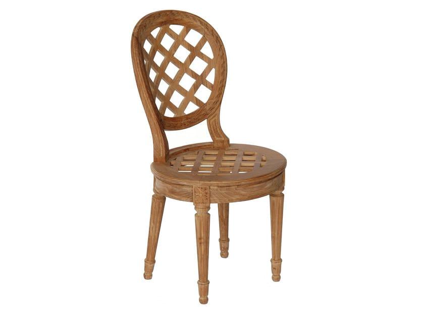Teak garden chair BOUTON D'OR | Teak chair - ASTELLO