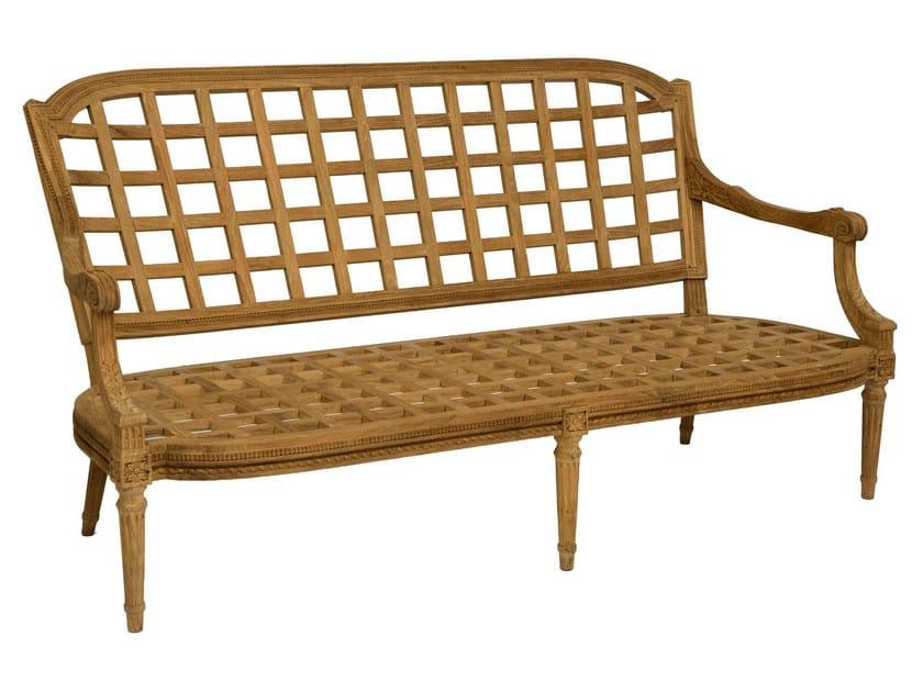 2 seater teak sofa GARDÉNIA | Sofa by ASTELLO