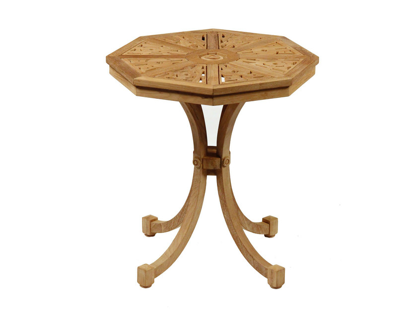 Teak garden side table HIBISCUS | Side table - ASTELLO