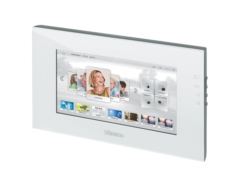 Building automation system interface MYHOME SCREEN - BTICINO