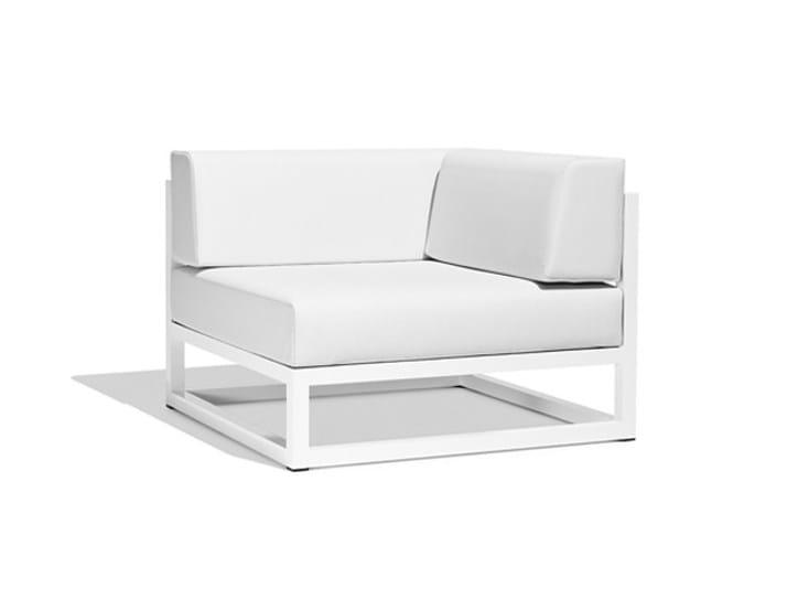 Corner modular garden sofa NUDE | Corner sofa - Bivaq