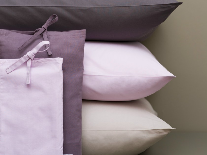 coordinato letto a tinta unita in cotone biancheria letto by le lit national. Black Bedroom Furniture Sets. Home Design Ideas