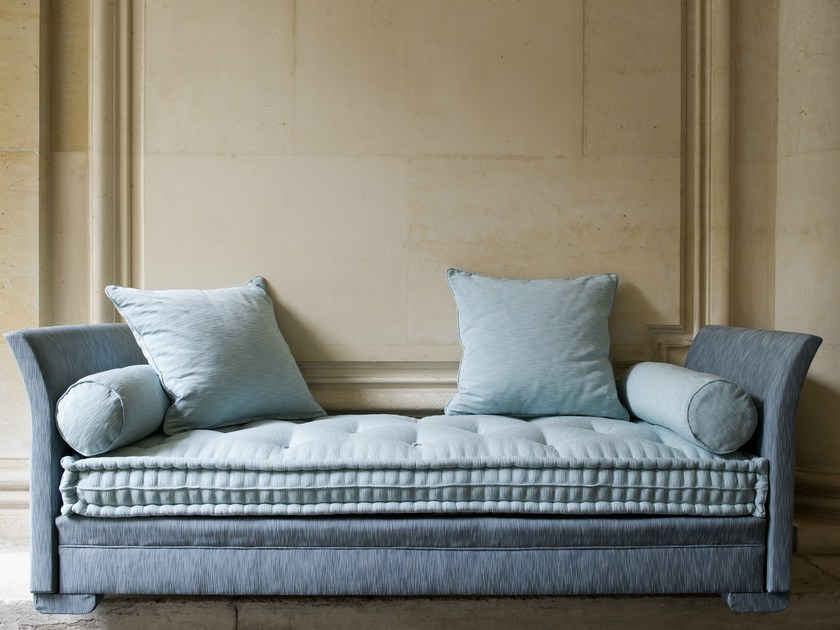 Upholstered Fabric Sofa Bed Divan Lit By Le Lit National