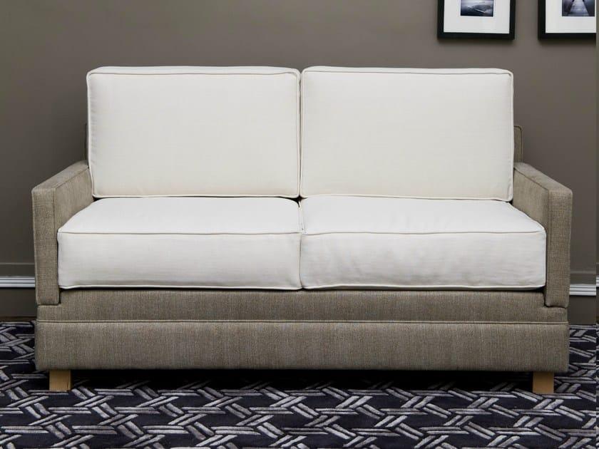 upholstered fabric sofa by le lit national. Black Bedroom Furniture Sets. Home Design Ideas