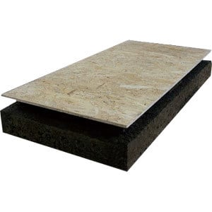 Cork ventilated roof system VENTILCORK® - Sace Components