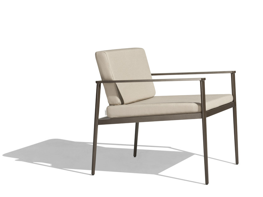 Garden armchair with armrests VINT | Easy chair - Bivaq