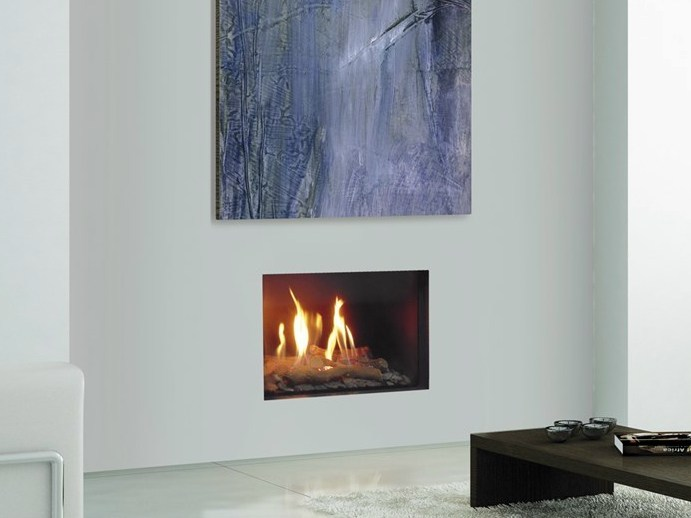 firenze gas fireplace insert by italkero