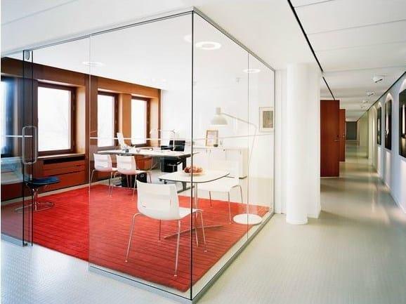 Acoustic glass wool ceiling tiles Ecophon Access™ E - Saint-Gobain ECOPHON
