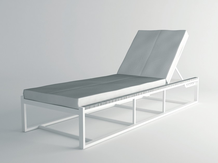 Recliner aluminium garden daybed ULTRA | Garden daybed by 10Deka