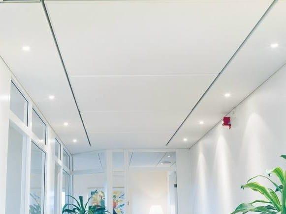 Acoustic glass wool ceiling tiles Ecophon Access™ Frieze - Saint-Gobain ECOPHON