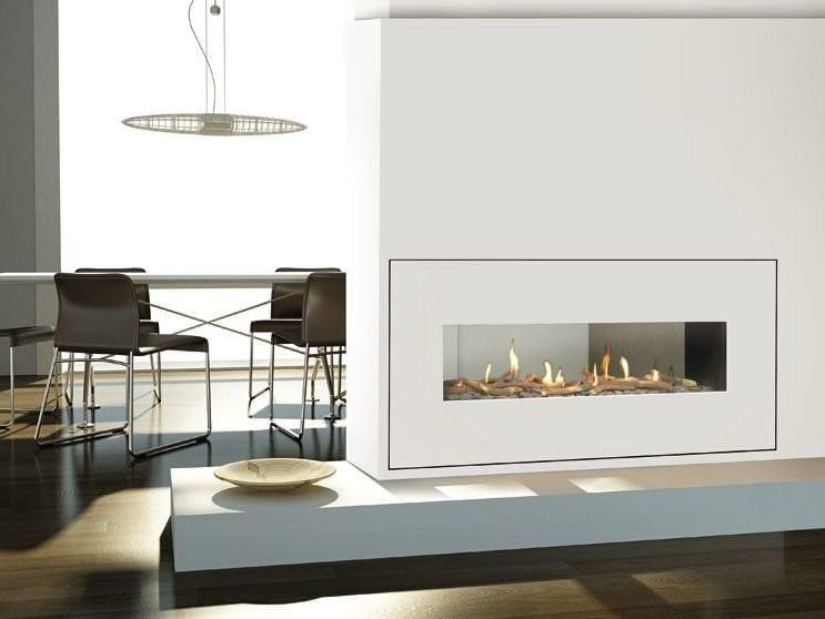 Gas Fireplace insert MILANO | Fireplace insert - ITALKERO