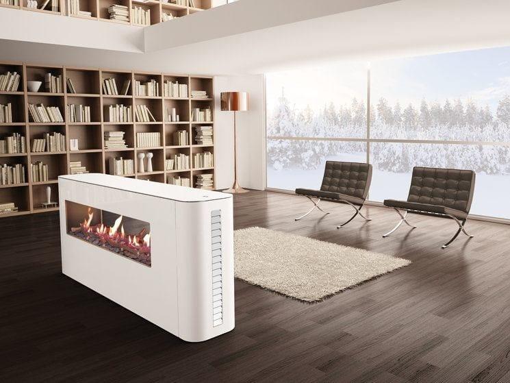 Gas free standing fireplace MILANO | Freestanding fireplace - ITALKERO