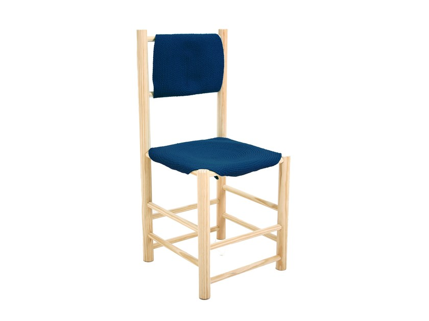 Pine chair WATERLILY | Chair - Darono