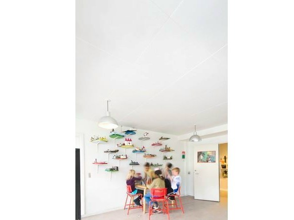 Sound absorbing glass wool ceiling tiles Ecophon Super G™ B by Saint-Gobain ECOPHON