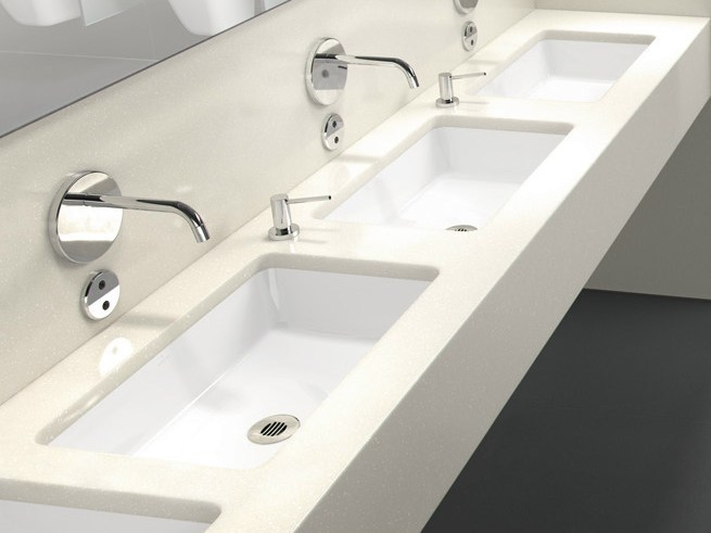 Undermount ceramic washbasin ARCHITECTURA | Undermount washbasin - Villeroy & Boch