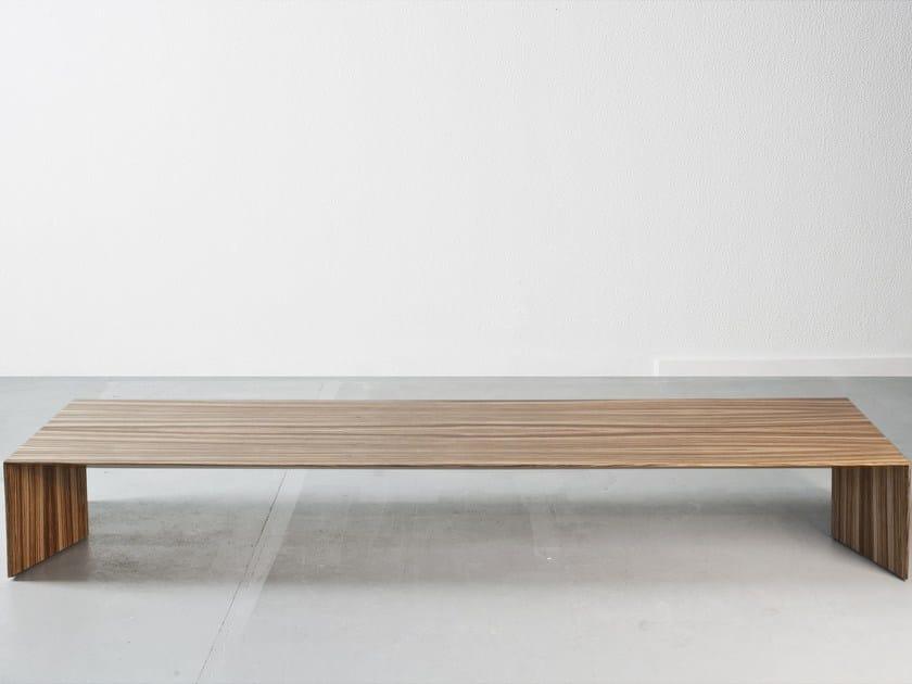 Rectangular MDF coffee table ARCH | Coffee table - Branca-Lisboa