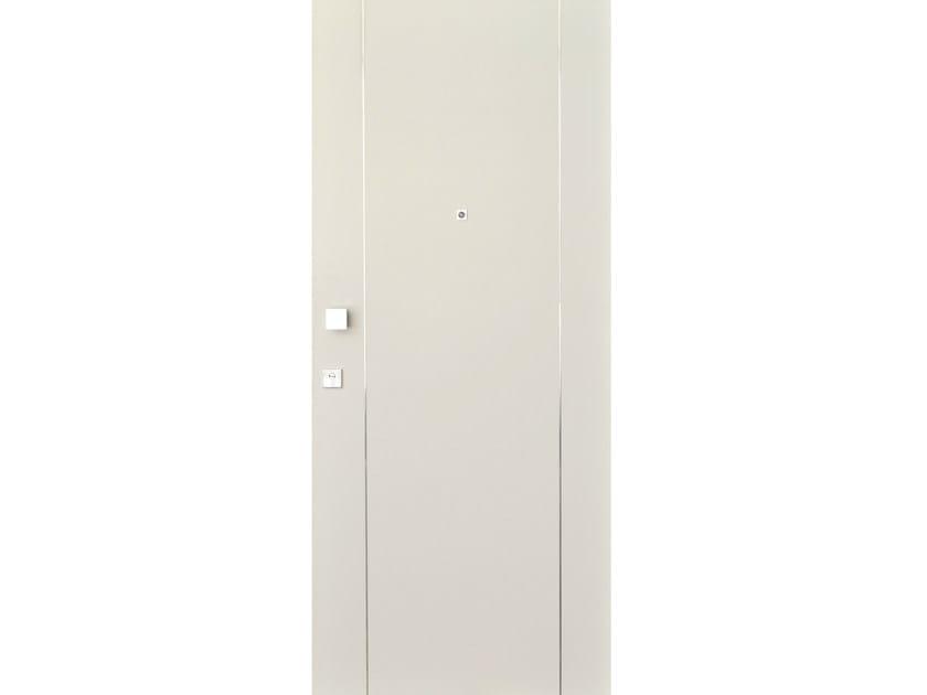 Wood veneer armoured door panel S709 - OMI ITALIA