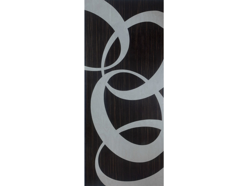 Ebony armoured door panel ORIZZONTE K10B - OMI ITALIA