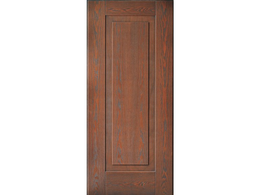 Multi-layer wood armoured door panel A502 by OMI ITALIA