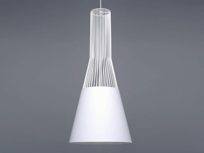Steel pendant lamp RAIO - Branca-Lisboa