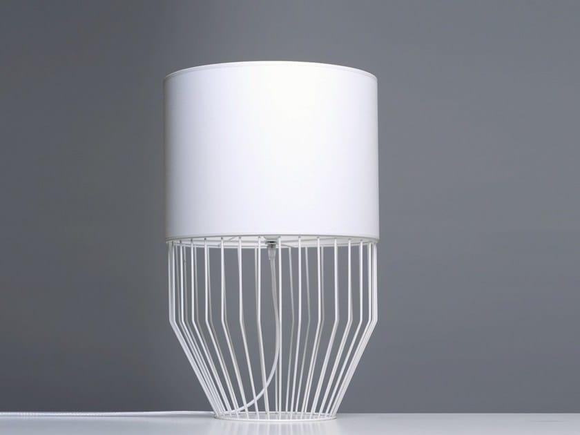 PVC table lamp RAIO T - Branca-Lisboa