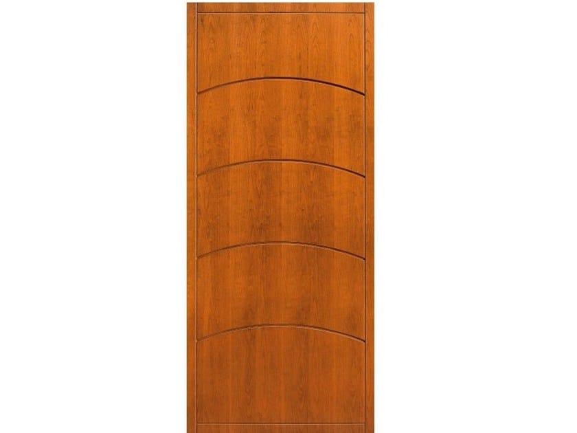 Wood veneer armoured door panel PAN185 - OMI ITALIA