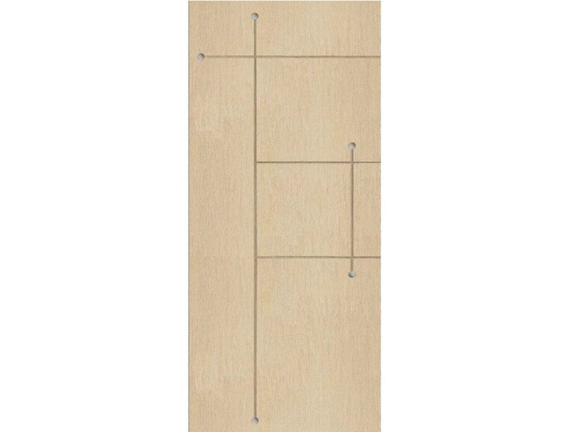 Wood veneer armoured door panel PAN189 - OMI ITALIA