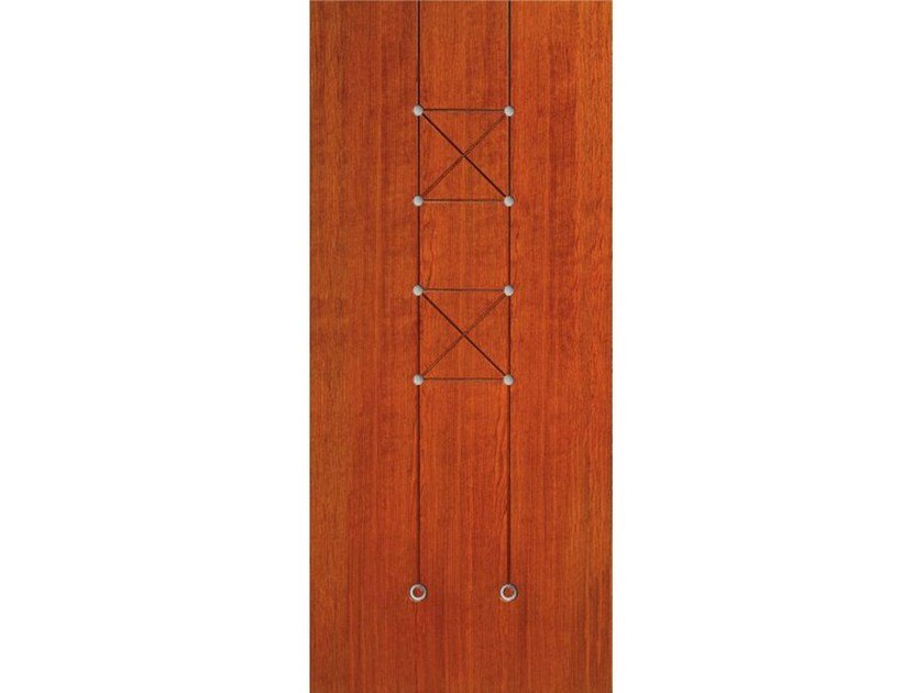 Wood veneer armoured door panel PAN192 - OMI ITALIA