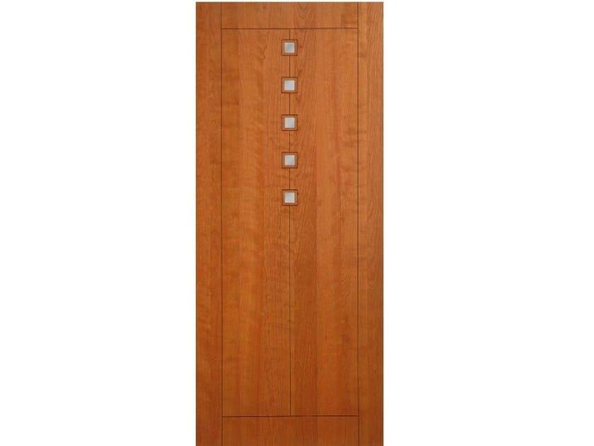 Wood veneer armoured door panel PAN166 by OMI ITALIA
