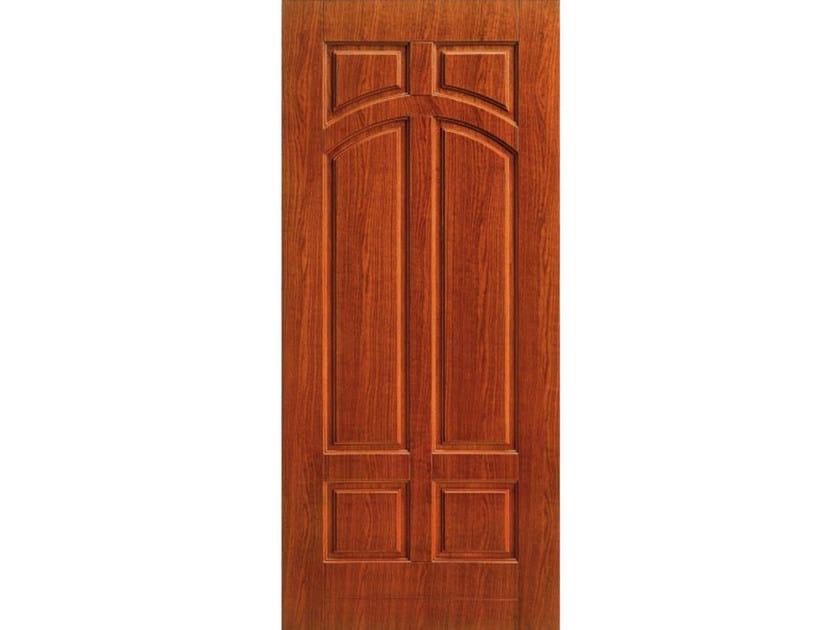 Wood veneer armoured door panel PAN167 by OMI ITALIA