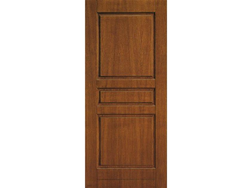 Panneau en placage de bois pour porte d 39 entr e pan114 by omi italia - Portes principales bois ...