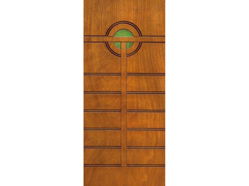Okoumé armoured door panel PAN187 - OMI ITALIA