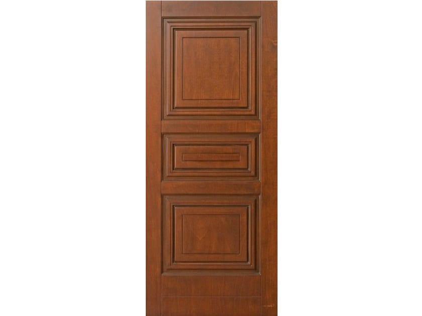 Okoumé armoured door panel PAN199 - OMI ITALIA
