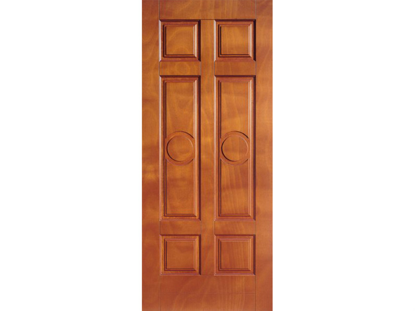 Okoumé armoured door panel PAN176 - OMI ITALIA
