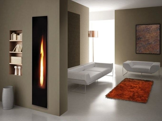 Gas Fireplace insert MIRROR FLAME - ITALKERO